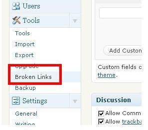 link checker wordpress