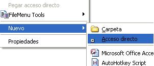 acceso directo windows