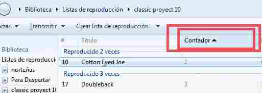 windows media player contador