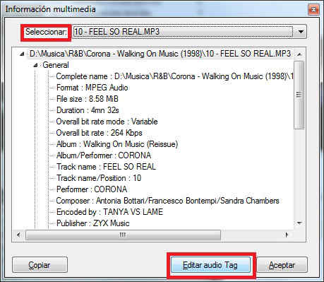 TAGS ID3 KMPLAYER tutorial