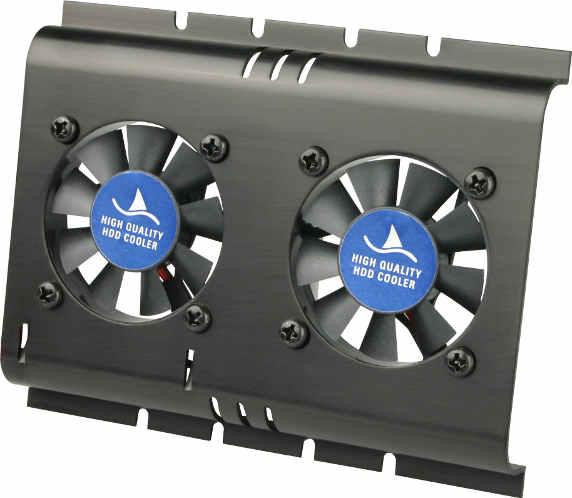 Abanicos dual para discos duros